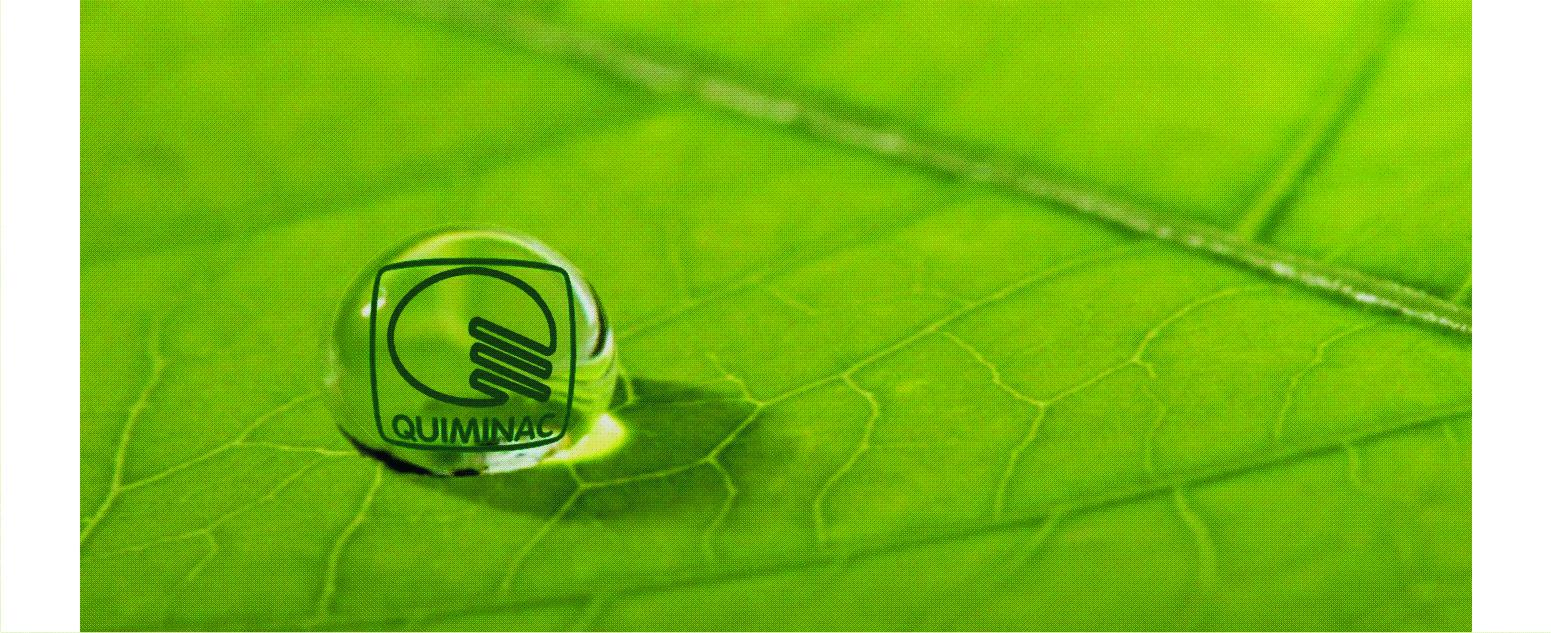 A Quiminac busca continuamente novas formas de economizar nossos recursos naturais mais importantes. E isto tem sido reconhecido.